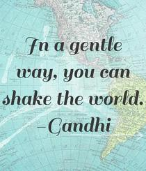 In a gentle way you can shake the world cv