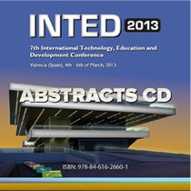 Inted2013 abstracts cd cv
