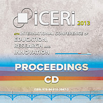Iceri2013 proceedings cd cv