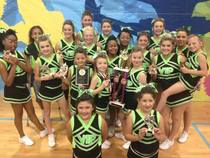 Allstarz 1st place and fever award cv