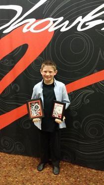 Gavin platinum 1st overall cv