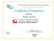 2014 access2010 level1 cv