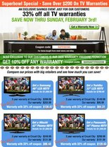 2008 01 31 superbowl tv sale cv