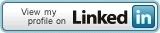 Linkedin button cv