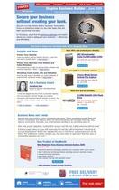 Email newsletter cv