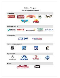 Companies brands clients cv