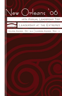 Leadershiptrip 2006 invite cv