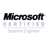 Microsoft certified cv