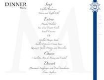 Le cordon bleu menu 2 cv