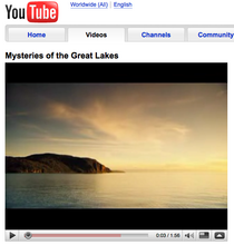 Mysteries of the great lakes   youtube cv