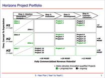 Horizons portfolio management cv
