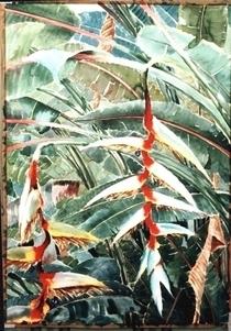 Flores del quind%c3%ado  100 x 70 cms cv