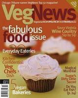 Veg news cupcakes cv