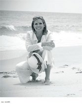 Lynn on beach cv