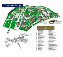Campus map cv
