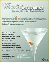 Martini madness cv