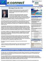 Corporate e newsletter page 1 cv