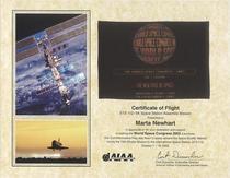 Certificate of flight cv
