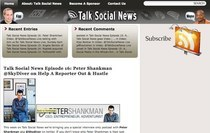 Talk social news  a social media podcast   interviews with industry leaders on social media. social news cv