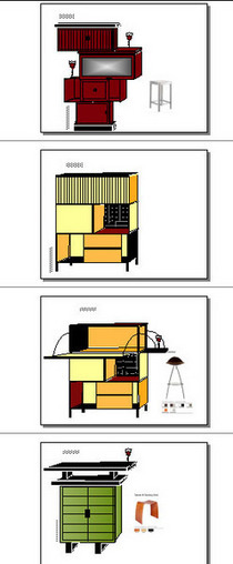 Cabinet designs cv