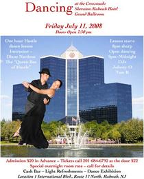 Dancing poster cv