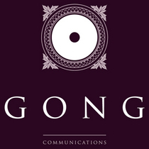 Gong logo aubergine cv