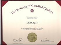 Certified banker cv
