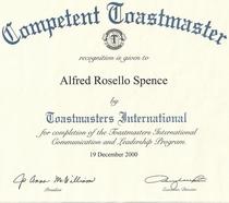 Toastmaster cv