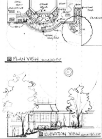 Plan   elevation view cv