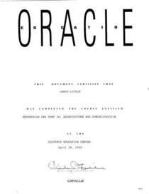 Oracle 4 28 2000 cv