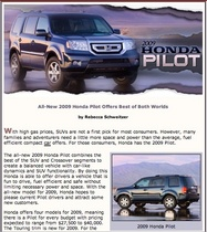2009 honda pilot review image cv
