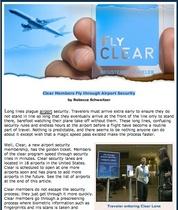 Fly clear cv