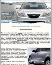 2009 hyundai sonata cv