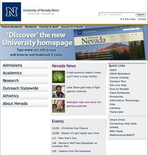 Unr homepage partial cv
