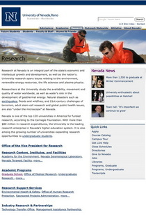 Unr research cv