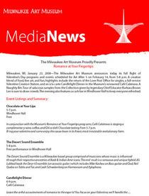 Media news cv