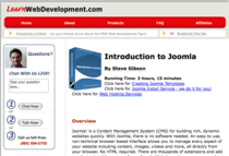 Introtojoomla cv