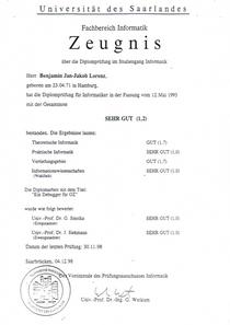Diplom 2 cv