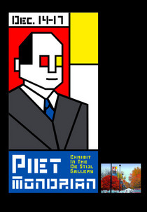 Piet mondrian cv