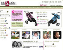 Baby outfitters home page c cv