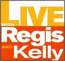 Live with regis and kelly logo cv