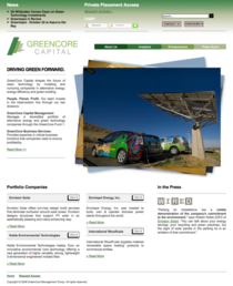 Greencore capital cv