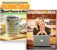 Washingtonian magazine cv