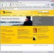 Symantec web site cv
