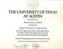 Ut ms diploma cv