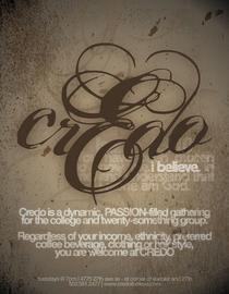 Credo poster cv