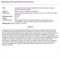 Journal geophysical research cv
