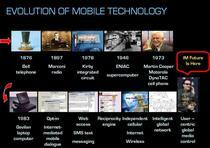 Impulse mobile powerpoint evolution slide cv