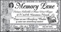 Memory lane cv