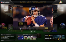 Nfl sunday night football scr shot cv
